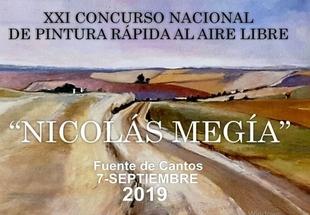 Bases del XXI Concurso Nacional de Pintura Rápida `Nicolás Megía´ de Fuente de Cantos