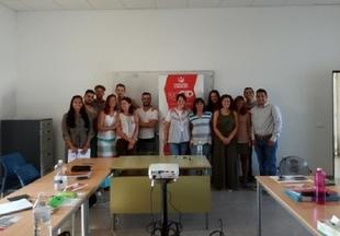 Los alumnos del Programa Colaborativo Rural Bienvenida Renovable participaron en el taller `Motivación para el emprendimiento´