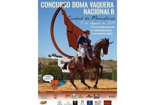 Monesterio acogió el Concurso de Doma Vaquera, puntuable para el Campeonato de España