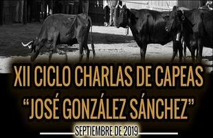 XII Ciclo Charlas de Capeas `José González Sánchez´