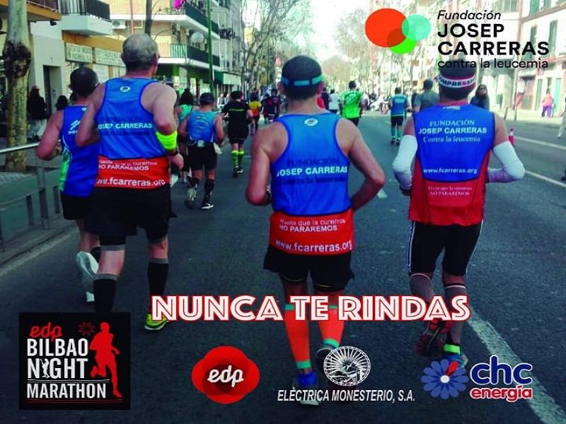 6 monesterienses correrán en Bilbao contra la leucemia (colabora en su campaña crowdfunding)