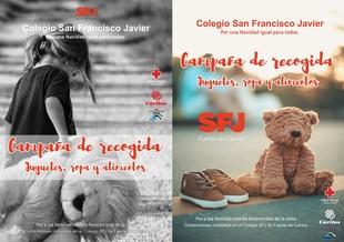 El colegio San Francisco Javier activa la campaña solidaria 'Por una Navidad igual para todos'