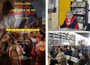 El alumnado del IES Alba Plata asistió a la conferencia de Gelabert González sobre la relación entre Cataluña y España