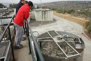 Promedio refuerza la EDAR de Higuera la Real para controlar vertidos industriales a través del proyecto Predaqua