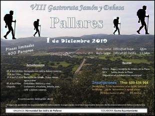 `VIII Gastroruta Jamón y Dehesa´ en Pallares el próximo mes de diciembre