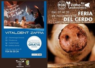 Vitaldent Zafra patrocina la Feria del Cerdo de Zafra