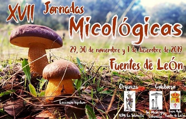 Programación completa de las XVII Jornadas Micológicas de Fuentes de León