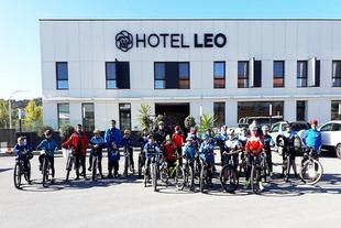 La Escuela Ciclista Comarcal Puerto Lobo Sierra de Tentudía inauguró el pasado sábado la nueva temporada