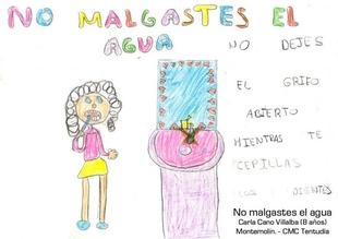 Carla Cano Villalba, de Montemolín, entre las ganadoras del concurso `Y para ti...¿qué es el consumo responsable?´