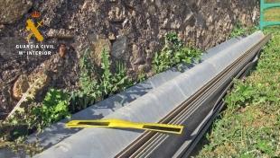 Investigados cinco vecinos de Monesterio por la sustracción de ganado, barreras de seguridad y señalizaciones de tráfico