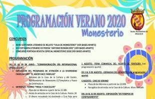 Monesterio presenta una espectacular programación de eventos para verano, adaptados a la Nueva Normalidad