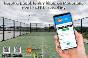 Hoy reabren las pistas de pádel en Monesterio con reservas mediante la APP ReservaPlay