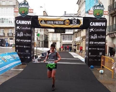 Jose Luis Guerrero, de Fuentes de León, sexto de España en Trail Running