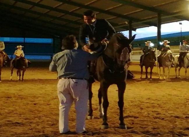 Álvaro Marrón Santamaría campeón de Extremadura de Doma Vaquera
