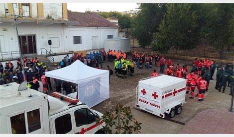 359 personas iniciaron la búsqueda de Manuela Chavero en Monesterio