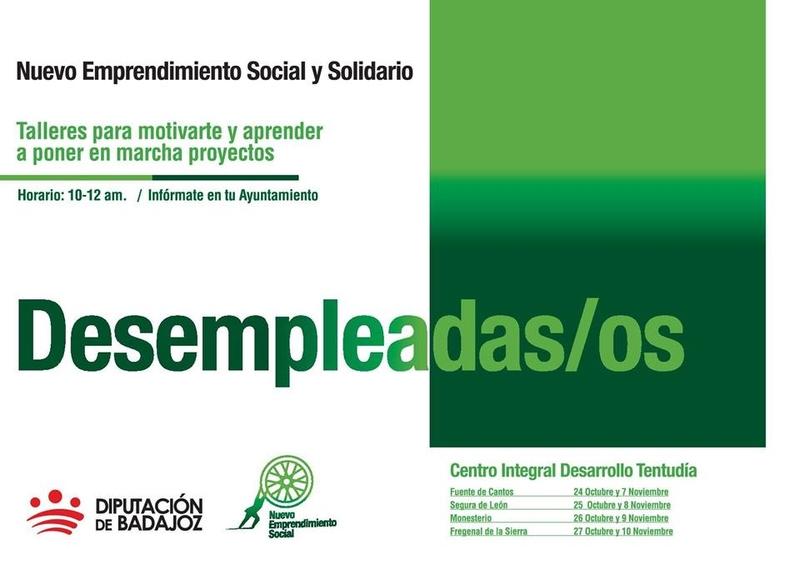 Cuatro de nuestras localidades seleccionadas en el proyecto de Nuevo Emprendimiento Social y Solidario