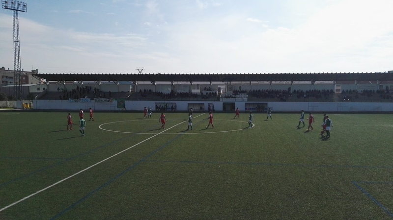 Empate sin goles del Fuente de Cantos en la mañana de hoy en Navalmoral