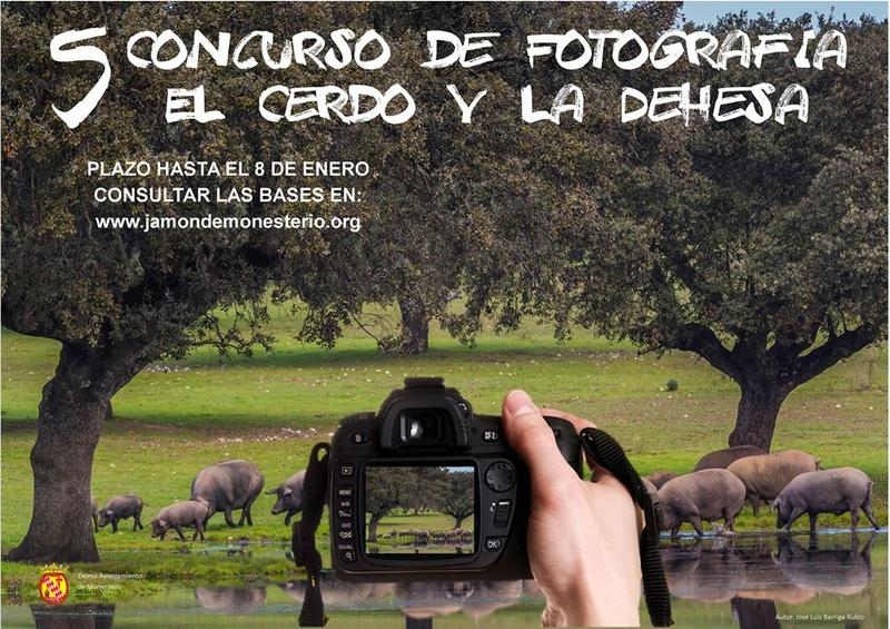 Monesterio convoca el V Concurso de fotografía ''El Cerdo y la Dehesa''