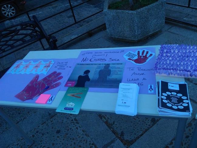 Actividades para el 25N, Día Internacional Contra la Violencia de Género, en los pueblos de Tentudía