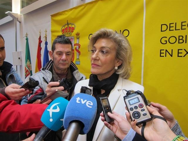 Cristina Herrera confía en que la venta de Río Narcea sea ''buena'' para la Mina Aguablanca
