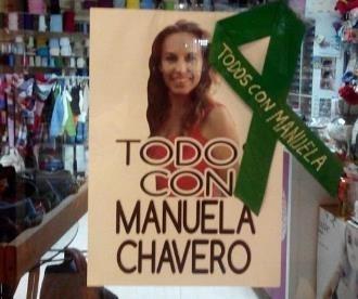 Medio año sin Manuela Chavero