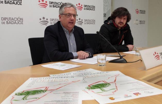 Antonio Garrote presenta la III Semana Gastronómica de la Dehesa en Diputación