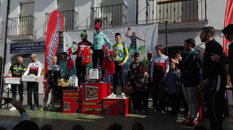 Podiums de la Maratón de BTT III Ruta Fuentecantos Bike
