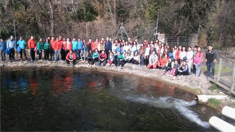 Los jateros participan en el V encuentro de jóvenes por el folklore