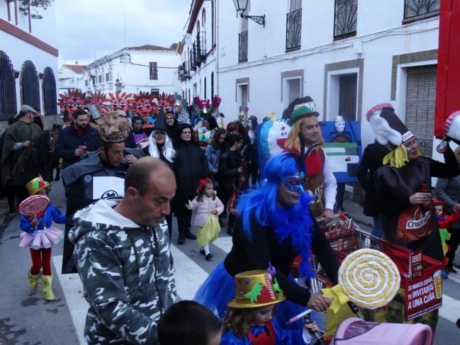 Bodonal celebró ayer sábado su Carnaval (fotogalería)