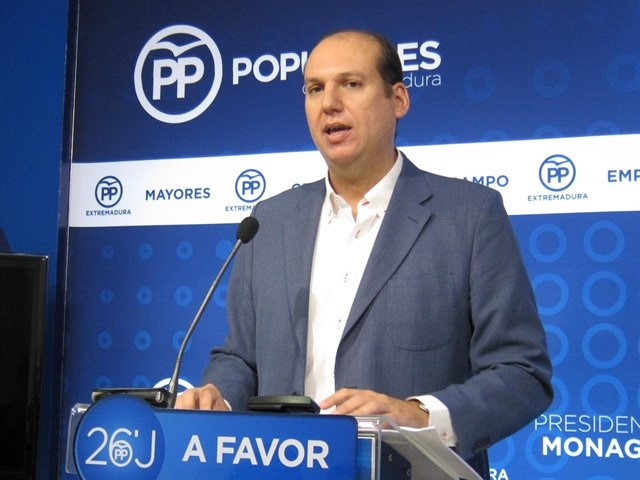 Carrón (PP) insta a la Junta a explicar si Sacyr tiene interés en explotar Aguablanca