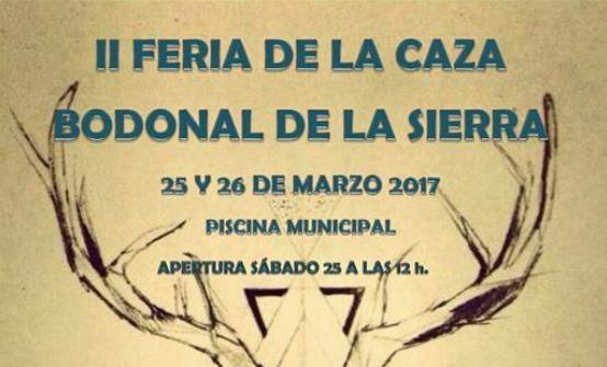 Multitud de actividades para la II Feria de la Caza en Bodonal de la Sierra