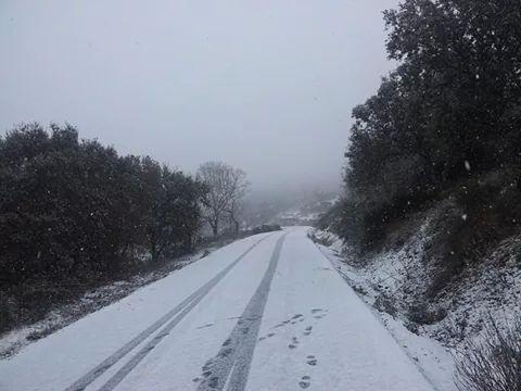 La comarca de Tentudía amanecerá con temperaturas bajo cero el jueves y viernes de esta semana