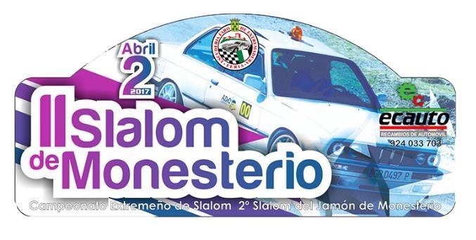 Este domingo 2 de abril se disputa el II Slalom de Monesterio