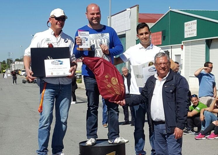 Victoria de José Manuel Gallego Pilo en el II Slalom de Monesterio