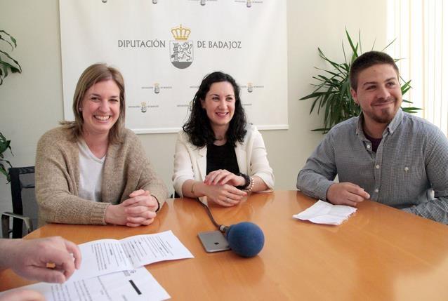 Fuente de Cantos presenta el Festival Chanfarock en la Diputación de Badajoz