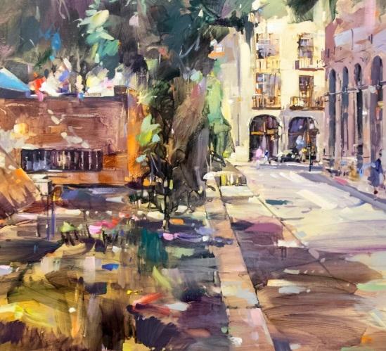 X Concurso de pintura al aire libre