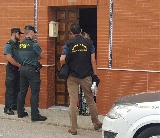 Uno de los atracadores de un banco en Fuente de Cantos ha sido localizado por la Guardia Civil en la cárcel de Badajoz