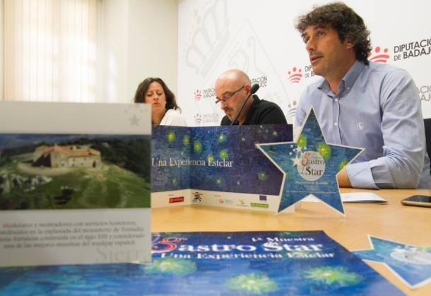 Presentada en Diputación la I Muestra Gastro-Star, una experiencia sensorial en Tentudía