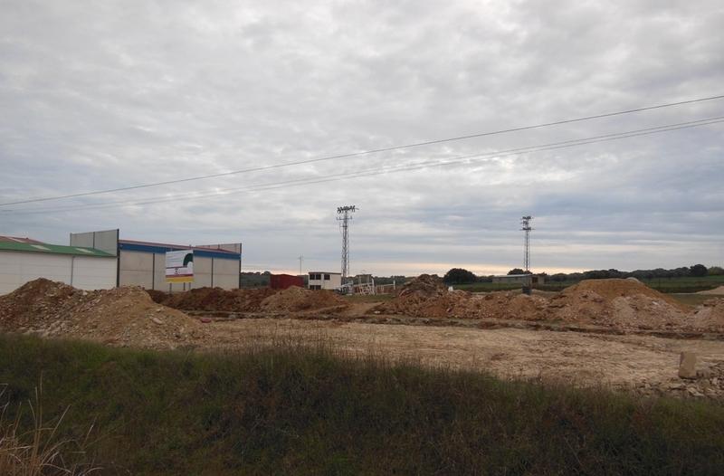 Reducción de 9 euros el metro cuadrado en las 9 parcelas del polígono industrial de Bodonal de la Sierra