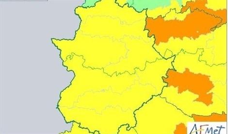 Alerta amarilla hasta el sábado con máximas de 40 grados en la comarca de Tentudía