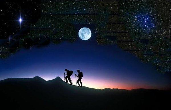 Ruta nocturna de senderismo en Fregenal de la Sierra