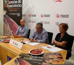 """Monesterio presenta su """"Día del Jamón"""" en la Diputación de Badajoz"""