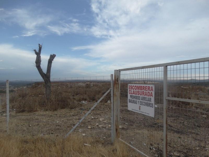 Los antiguos vertederos de Segura de León y Cabeza la Vaca serán recuperados ambientalmente en unos meses