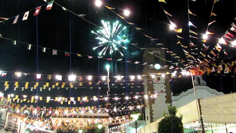 Comienzan las Fiestas Patronales en Honor a la Virgen de Flores en Bodonal de la Sierra