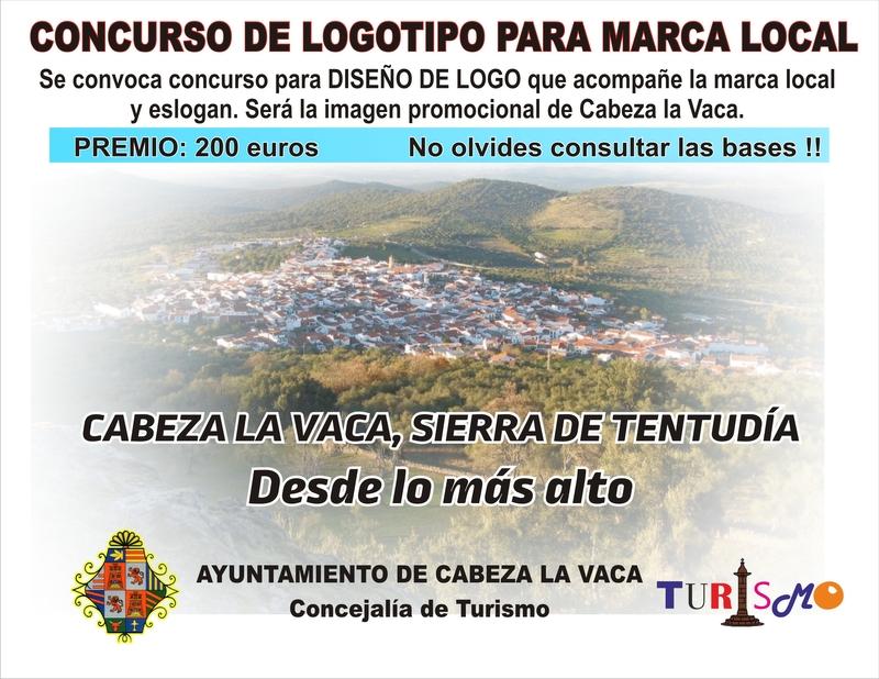 Concurso para el diseño de logotipo de la ''marca local'' en Cabeza la Vaca