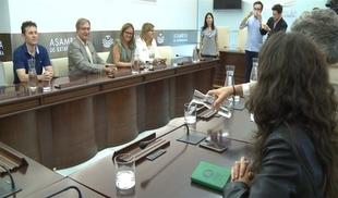 La Fundación QSD-Global pide a diputados extremeños que colaboren para impulsar el ''estatuto de la persona desaparecida''