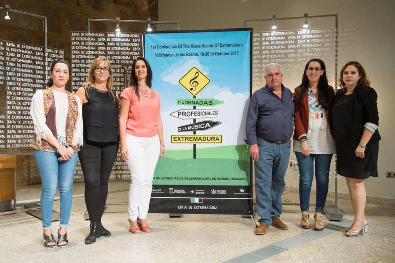 El Ayuntamiento de Monesterio apoya las I Jornadas Profesionales de la Música de Extremadura que se celebrarán en Villafranca de los Barros