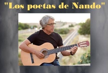 Nando Juglar presentará su disco ''Los Poetas de Nando'' en Segura de León, el mes de noviembre
