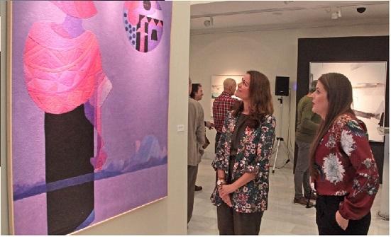 El XXXV Premio Internacional de Pintura ''Eugenio Hermoso'' es para la portuguesa Susana Chasse