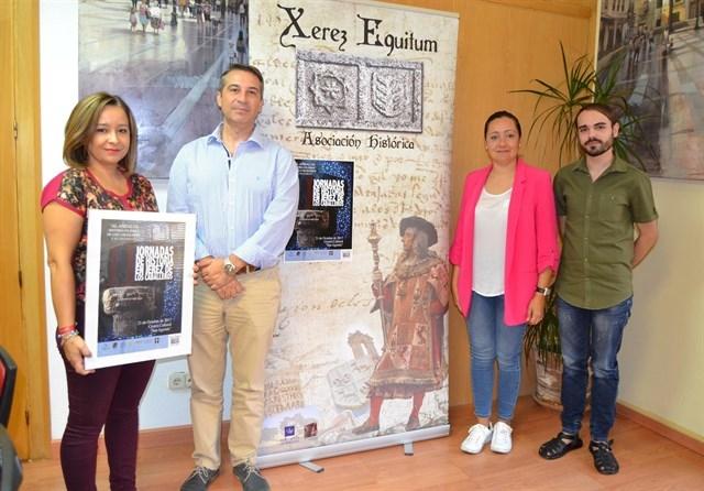 Felipe Lorenzana, cronista oficial de Fuente de Cantos, participa en las II Jornadas de Historia en Jerez de los Caballeros